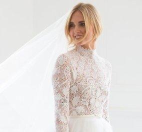 Κιάρα Φεράνι: Δείτε βήμα-βήμα πώς ο οίκος Dior έφτιαξε το νυφικό της (Φωτό & Βίντεο) - Κυρίως Φωτογραφία - Gallery - Video