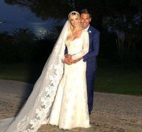 Ο λαμπερός γάμος του πρώην συζύγου της Αθηνάς Ωνάση με την πανέμορφη Ντενίζ - Παρούσα η κόρη του (φώτο) - Κυρίως Φωτογραφία - Gallery - Video