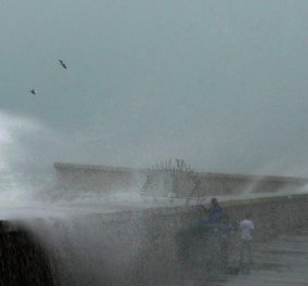 """Στο έλεος του κυκλώνα """"Ξενοφώντα""""  η χώρα - Δείτε ζωντανά πως κινείται στην Ελλάδα (φώτο-βίντεο) - Κυρίως Φωτογραφία - Gallery - Video"""