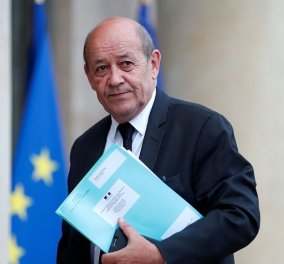 Ο Γάλλος υπουργός Ευρώπης & Εξωτερικών Υποθέσεων, Jean-Yves Le Drian, στην Αθήνα - Κυρίως Φωτογραφία - Gallery - Video