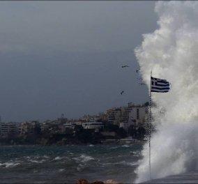Νέα ενημέρωση για τον κυκλώνα - Εξασθενεί αλλά παραμένει επικύνδινος - Η εικόνα για την Αττική (φώτο-βίντεο) - Κυρίως Φωτογραφία - Gallery - Video