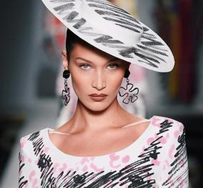 Η Μπέλα Χαντίντ & οι δικές της φώτο από τις εβδομάδες μόδας σε Παρίσι, Νέα Υόρκη, Μιλάνο     - Κυρίως Φωτογραφία - Gallery - Video