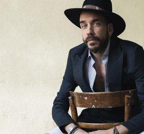 O πολυτάλαντος Πάνος Μουζουράκης στο πρώτο του διεθνές εξώφυλλο είναι άρχοντας! Πολύ σικάτος και δανδής (Φωτό) - Κυρίως Φωτογραφία - Gallery - Video