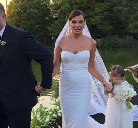 Γάμος Ρέμου - Μπόσνιακ: Με παπιγιόν ο γαμπρός, με σέξι νυφικό η Υβόννη  - Κυρίως Φωτογραφία - Gallery - Video