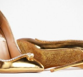 Αυτές οι χρυσές γόβες με διαμάντια πωλήθηκαν στο Ντουμπάι στην τιμή ρεκόρ των 17 εκατ. δολαρίων - Κυρίως Φωτογραφία - Gallery - Video