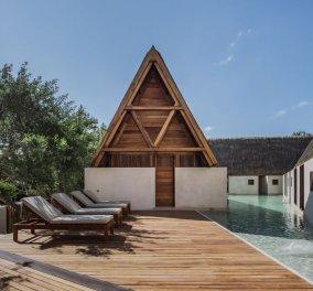 Δείτε φωτογραφίες αυτής της πισίνας σε εξωτικό...bungalow: Λένε η ωραιότερη του κόσμου! - Κυρίως Φωτογραφία - Gallery - Video