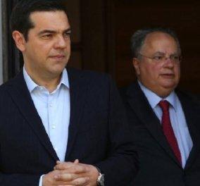 Ο Αλέξης Τσίπρας έκανε δεκτή την παραίτηση Νίκου Κοτζιά - Αναλαμβάνει ο ίδιος το υπουργείο Εξωτερικών - Κυρίως Φωτογραφία - Gallery - Video