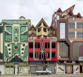 «Cholets»: Ανακαλύψτε ένα μοναδικό στυλ αρχιτεκτονικής με άπλετο χρώμα στην πόλη Ελ Άλτο της Βολιβίας   - Κυρίως Φωτογραφία - Gallery - Video