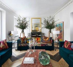 Παρίσι: Διάσημος Γάλλος σχεδιαστής του Dior μας δείχνει το ρομαντικό διαμέρισμά του στην πιο σικ γειτονιά (Φωτό) - Κυρίως Φωτογραφία - Gallery - Video