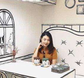 Σεούλ: Σε αυτό το μαγαζί πίνεις τον καφέ σου και «πρωταγωνιστείς» σ' ένα κόμικ (Βίντεο) - Κυρίως Φωτογραφία - Gallery - Video