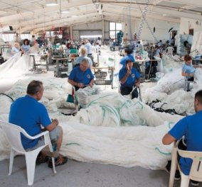 Αποκλ. – Made in Greece η Δίοπας & o Σίμος Διαμαντίδης: Τα πρώτα αλεξίσφαιρα δίχτυα αλιείας & ιχθυοκαλλιέργειας στον κόσμο – 3 φορές ελαφρύτερα – 30% εξοικονόμηση καυσίμου - Κυρίως Φωτογραφία - Gallery - Video