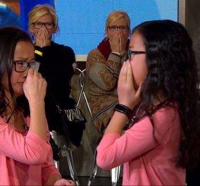 Βίντεο - Δίδυμες Κινεζούλες χωρίστηκαν μωρά & υιοθετήθηκαν - Βλέπουν η μια την άλλη πρώτη φορά & κλαίει όλη η Αμερική από συγκίνηση  - Κυρίως Φωτογραφία - Gallery - Video