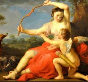 Greek Mythos: Όταν ο Έρωτας παντρεύτηκε την Ψυχή αφού πρώτα την τυράννησε με εντολή της ζηλιάρας μητέρας του Αφροδίτης - Κυρίως Φωτογραφία - Gallery - Video