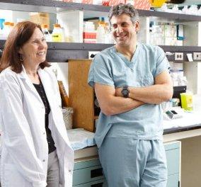 Ειρήνη Ανδρουλή: Η πρωτοπόρος Ελληνίδα επιστήμονας που πρωτοστατεί στην έρευνα για τον καρκίνο του μαστού - Κυρίως Φωτογραφία - Gallery - Video