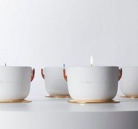 O Louis Vuitton μόλις κυκλοφόρησε 4 αρωματικά κεριά αφόρητα σικ με πολύχρωμα φυτίλια και χρυσό πιατάκι (Φωτό) - Κυρίως Φωτογραφία - Gallery - Video