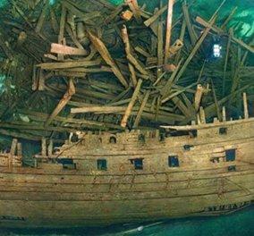 Αυτό είναι το παλαιότερο «άθικτο» ναυάγιο στον κόσμο - Βρέθηκε στη Μαύρη Θάλασσα αρχαιοελληνικό πλοίο (Βίντεο) - Κυρίως Φωτογραφία - Gallery - Video
