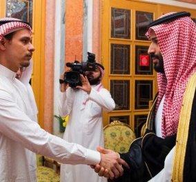 Χειραψία Σαουδάραβα Πρίγκιπα - γιου Κασόγκι: Θέατρο του παραλόγου, υποκρισία και απίστευτη ανηθικότητα (Φωτό) - Κυρίως Φωτογραφία - Gallery - Video