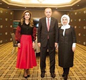 Η βασίλισσα Ράνια της Ιορδανίας στην Τουρκία - Το πανανθρώπινο μήνυμα για έναν ασφαλή και ειρηνικό κόσμο (φώτο-βίντεο) - Κυρίως Φωτογραφία - Gallery - Video