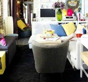 Οι Παριζιάνοι είναι εξπέρ στην διακόσμηση ειδικά σε ένα μικρό διαμέρισμα! Τα χωράει όλα & έχει στυλ - Φώτο   - Κυρίως Φωτογραφία - Gallery - Video
