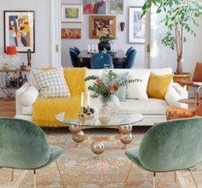 Σπύρος Σούλης: Τα ιδανικά χρώματα για να στολίσετε το καθιστικό σας το φθινόπωρο - Κυρίως Φωτογραφία - Gallery - Video