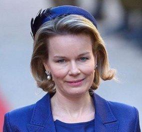 Η Βασίλισσα του Βελγίου, Ματίλντ, με συντηρητικά ton sur ton σύνολα: Καμία σχέση με την glamorous «γειτόνισσα» Βασίλισσα της Δανίας (Φωτό) - Κυρίως Φωτογραφία - Gallery - Video