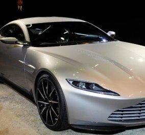 Η Aston Martin που οδήγησε ο 007 στους δρόμους του Λονδίνου - Κυρίως Φωτογραφία - Gallery - Video