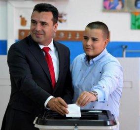 Δημοψήφισμα στην ΠΓΔΜ: Το «ΝΑΙ» στήριξε το 91% - Ζάεφ: «Εκλογές αν δεν περάσει η συμφωνία από τη Βουλή» - Κυρίως Φωτογραφία - Gallery - Video