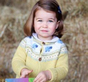 Αυτή η φωτογραφία είναι η απόδειξη πως η μικρή Σάρλοτ μοιάζει σε μέλος της οικογένειας της Νταϊάνα - Κυρίως Φωτογραφία - Gallery - Video