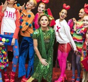 Agatha Ruiz de la Prada : Η Ισπανίδα αριστοκράτισσα που έγινε σχεδιάστρια μόδας ! Τη  Κυριακή κάνει βόλτα τους 14 σκύλους της & διαβάζει φανατικά εφημερίδες (φωτό-βίντεο)  - Κυρίως Φωτογραφία - Gallery - Video