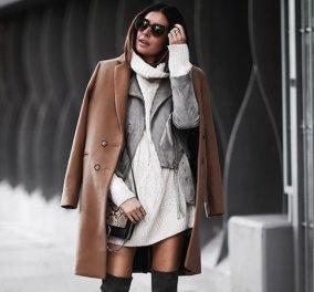 Χειμώνας 2019  Υπέροχες ιδέες για να διαλέξετε το παλτό που θα σας ζεστάνει  - Φώτο 547cc071959