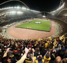 Βίντεο-σοκ από την υπερταλάντωση του ΟΑΚΑ: Τρέμει σαν καρυδότσουφλο και τρομάζει την UEFA - Κυρίως Φωτογραφία - Gallery - Video