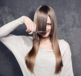 Κούρεμα στο σπίτι: Πως να κόψετε τα μαλλιά σας μόνη σαν επαγγελματίας (Βίντεο) - Κυρίως Φωτογραφία - Gallery - Video