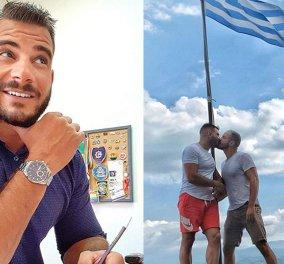 Ο πρώτος αστυνομικός που δηλώνει ανοιχτά ότι είναι γκέι: «Θα φιλιέμαι με όποιον θέλω και όπου θέλω»   - Κυρίως Φωτογραφία - Gallery - Video