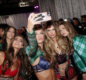 Τα διάσημα μοντέλα σε κέφια στα παρασκήνια με selfies & αστειάκια μεταξύ τους (Φωτό & Βίντεο) - Κυρίως Φωτογραφία - Gallery - Video