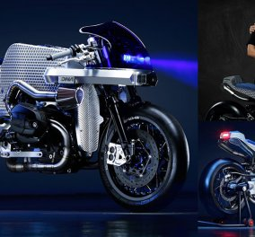 """Μade in Greece: Η μοτοσικλέτα των Μάριου & Ντίνου Νικολαϊδη εντυπωσίασε το DCR-018 """"The Billet Sting"""" σε έκθεση του Μιλάνου - Κυρίως Φωτογραφία - Gallery - Video"""