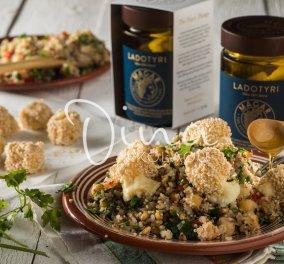 Ντίνα Νικολάου: Super food σαλάτα, με όσπρια αλλά και λαδοτύρι πανέ από την αγαπημένη μας σεφ - Κυρίως Φωτογραφία - Gallery - Video