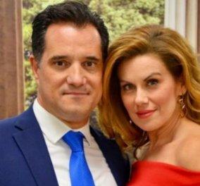 Ο Άδωνις Γεωργιάδης έγινε 46 χρόνων στη σφιχτή αγκαλιά της Ευγενίας Μανωλίδου: «Πάντα πρώτος αγάπη μου!» (Φωτό) - Κυρίως Φωτογραφία - Gallery - Video