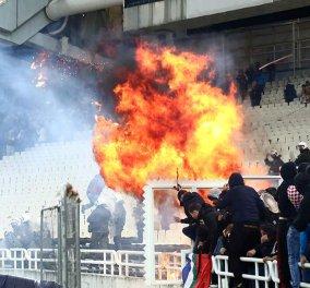 Παγκόσμιος διασυρμός: Αιματηρά επεισόδια μεταξύ οπαδών της ΑΕΚ και του Άγιαξ στο ΟΑΚΑ - Κίνδυνος βαριάς τιμωρίας (Φωτό & Βίντεο) - Κυρίως Φωτογραφία - Gallery - Video