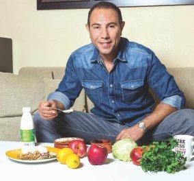 Ο Δημήτρης Γρηγοράκης συστήνει τον σολομό για σωστή διατροφή: Πλούσιος σε ω-3 λιπαρά και βαρέα μέταλλα - Κυρίως Φωτογραφία - Gallery - Video