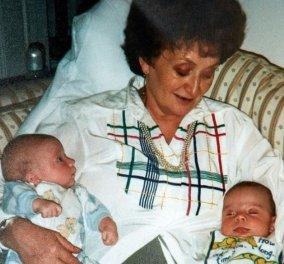 Τι λέει 21 χρόνια μετά η πιο ηλικιωμένη μητέρα διδύμων με εξωσωματική - Η απώλεια του μπαμπά τους στα 3 & οι δυσκολίες (φωτό) - Κυρίως Φωτογραφία - Gallery - Video