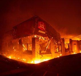 Πύρινος εφιάλτης δίχως τέλος στην Καλιφόρνια - Στους 25 οι νεκροί - Τα πυρά του Τραμπ (φώτο-βίντεο) - Κυρίως Φωτογραφία - Gallery - Video