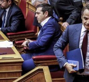 Βουλή: Η πρώτη μάχη για την αναθεώρηση του Συντάγματος - Κυρίως Φωτογραφία - Gallery - Video