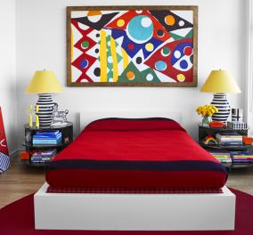 Είναι αυτό το πιο χαρούμενο διαμέρισμα στη Νέα Υόρκη; - Λουσμένο στο φως βαπτισμένο στα χρώματα  (φωτό)  - Κυρίως Φωτογραφία - Gallery - Video