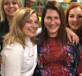 Έγινα μαθήτρια της υπέροχης σεφ Ντίνας Νικολάου: Ριζότο με κολοκύθα, αχλάδια με κρασιά Σάμου (φωτό και βίντεο) - Κυρίως Φωτογραφία - Gallery - Video