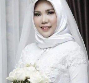 Δεν τους χώρισε ούτε ο θάνατος: Τον «παντρεύτηκε» και πόζαρε με το νυφικό της - Εκπλήρωσε την τελευταία επιθυμία του συντρόφου της (Φωτό) - Κυρίως Φωτογραφία - Gallery - Video