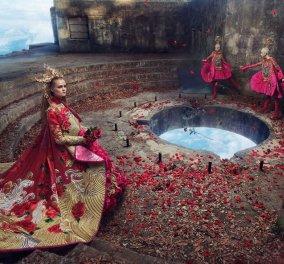 Φαντασμαγορικά πορτραίτα γυναικών δημιουργούν ένα μαγικό τοπίο που μοιάζει να είναι βγαλμένο από παραμύθι - Φώτο  - Κυρίως Φωτογραφία - Gallery - Video
