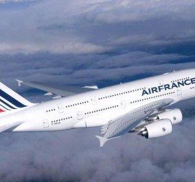 Θρίλερ σε πτήση της AirFrance: Καρδιοχτύπι  για τους επιβάτες - Κυρίως Φωτογραφία - Gallery - Video