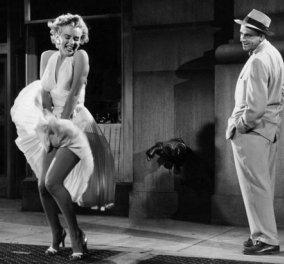 Mέριλυν Μονρόε: Το συζυγικό καβγαδάκι πίσω από την σκηνή με το αξεπέραστο λευκό φόρεμα (φωτό & βίντεο) - Κυρίως Φωτογραφία - Gallery - Video