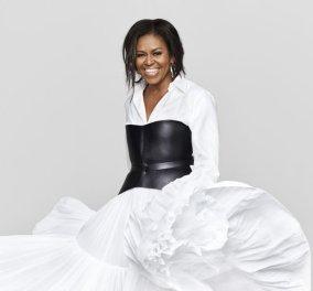 Η Μισέλ Ομπάμα πιο κομψή από ποτέ: Ποζάρει στο εξώφυλλο του «Elle» - Τι απαγορευόταν να κάνει ως Πρώτη Κυρία (Φωτό) - Κυρίως Φωτογραφία - Gallery - Video