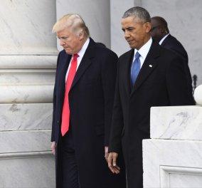 """""""Πόλεμος"""" Ομπάμα - Τραμπ λίγες μέρες πριν τις εκλογές για νέο Κογκρέσο - Κυρίως Φωτογραφία - Gallery - Video"""